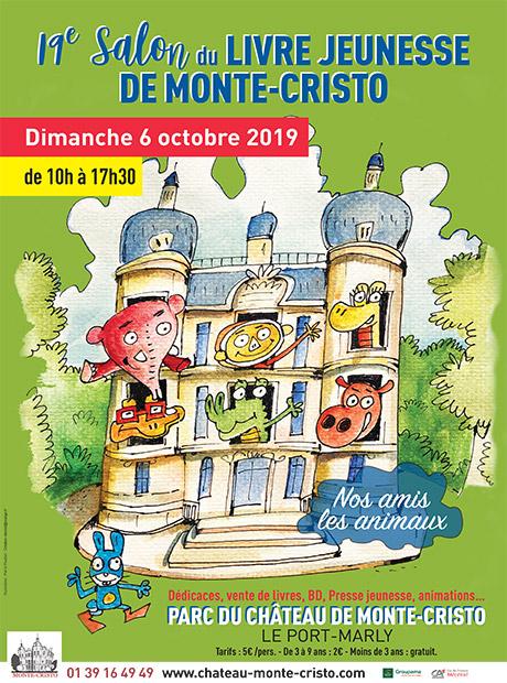 Salon Du Livre Jeunesse Chateau De Monte Cristo
